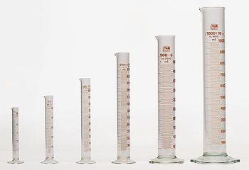 Meßzylinder, Glas, hohe Form - ivo haas Lehrmittelversand & Verlag